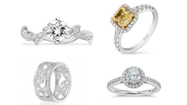 Imagenes de anillos de compromiso